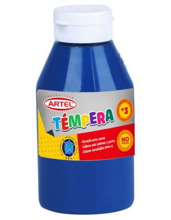 Frasco Tempera 500ml Artel N44 Azul Ultramar 10020844