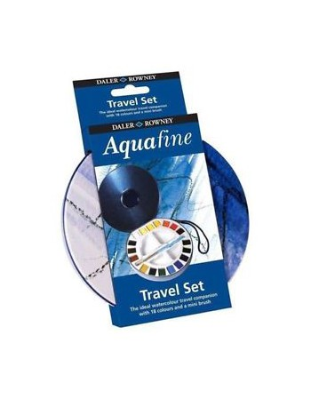 Set Acuarela Aquafine Travel 18col. Half Pan 131900030