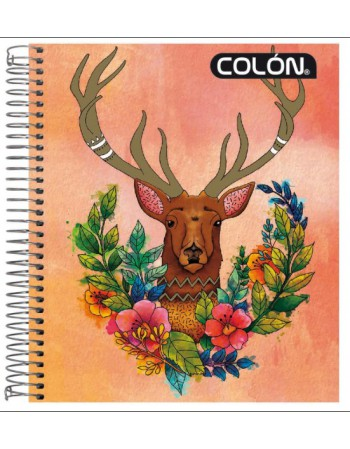 Cuad. Colon Book Natura 7mm 120H 27867