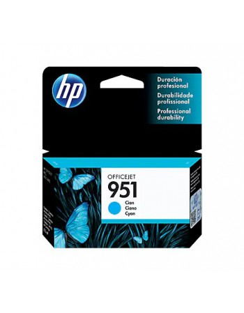 Cartridge HP CN050AL 951 Cyan 8100/8600