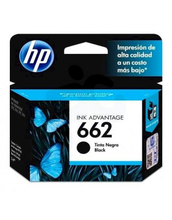 Cartridge HP CZ103A 662 Negro 2515 120pag.