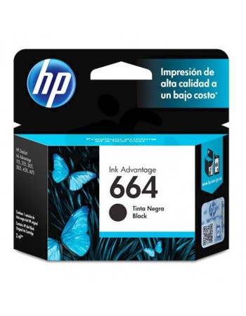 Cartridge HP F6V29AL 664 Negro 120Pag. 4535 - 2135