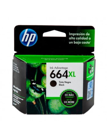 Cartridge HP F6V31AL 664XL Negro 330Pag. 4535 - 2135