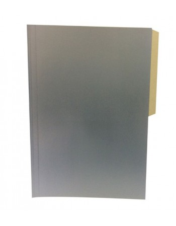 -Carpeta Pigmentada Color Gris