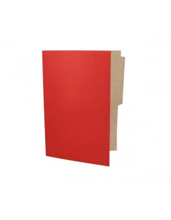 -Carpeta Pigmentada Color Rojo