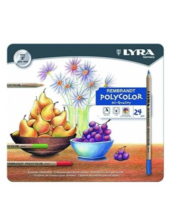 Lapices Lyra Poly Lata 24 Colores 2001240