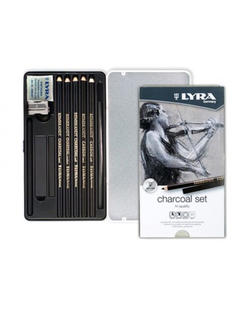 Lapices Lyra Lata 11pc. Charcoal 41112