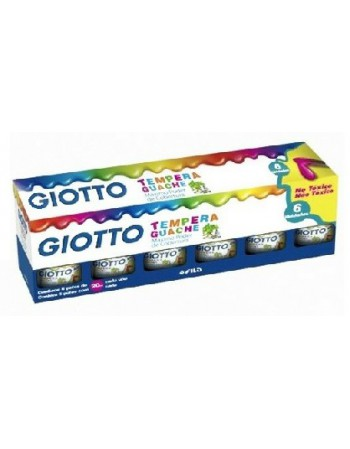Tempera Giotto 20ml. 6 Colores 06865