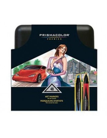 Set Prismacolor Art Markers 48 colores 00098 1805884