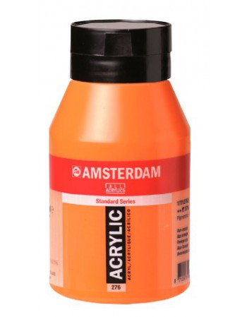 Pote Acrilico Amsterdam 500ml.276 Azo Orange 17722762