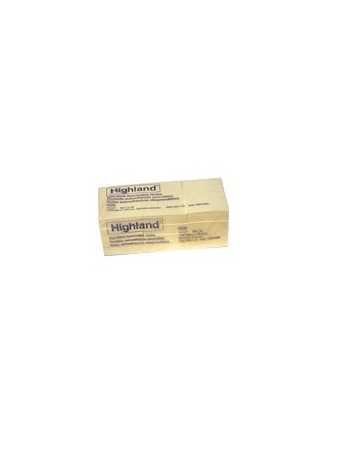 Post-it Notes Highland 653-9 Amarillo 3.8x5cm 4363-3 122147