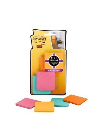 Post-it Notes 3M F-220-8SS 2x2cm 6251-9 Col. Surtidos 4Unid.