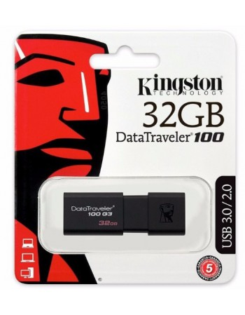 Pendrive 32GB Kingston USB 3.0 100 G3 / G4 CH033KNG26
