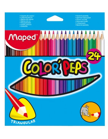 Lapices 24 Col. Largos Maped 183224 50320522