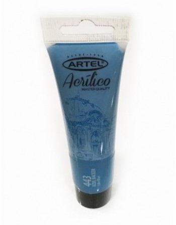 Tubo Acrilico Artel 35 ml. Azul Backer 443  25001443