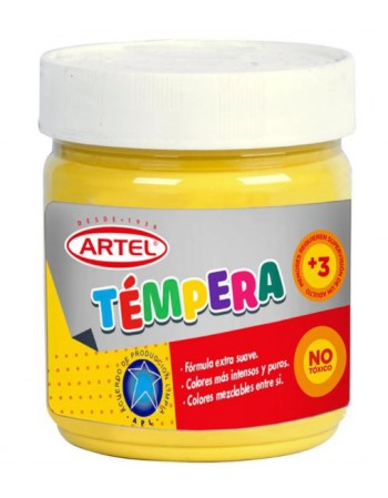 Frasco Tempera 100ml Artel N75 Amarillo Medio 10021775