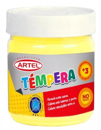 Frasco Tempera 100ml Artel N72 Amarillo Lima 10021772