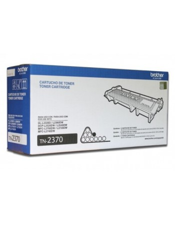 Toner Brother TN-2370 Negro HL-2320D/HL L2360DW 2600 Pag.