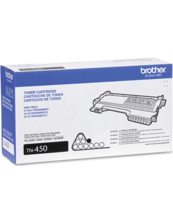Toner Brother TN-450 Negro F/HL-2270W