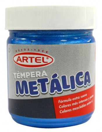 Tempera Metalica Azul 100ml. 10021843