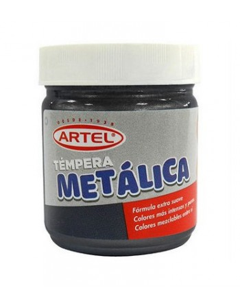 Tempera Metalica Negro 100ml. 10021821