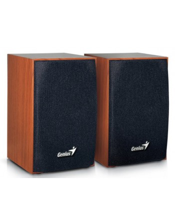 Parlantes Genius SP-HF160 4W USB WOOD 06831