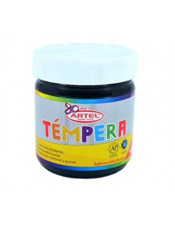 Frasco Tempera 100ml Artel N21 Negro 10021721