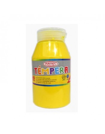 Frasco Tempera 250ml Artel N75 Amarillo Medio 10020975