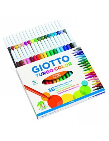 Marcador 36 Colores Turbo Color Giotto  4180 3001