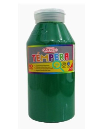 Frasco Tempera 500ml Artel N51 Verde Claro 10020851