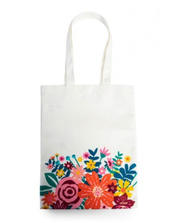 Bolsa Canvas Flores Village 351648/867681