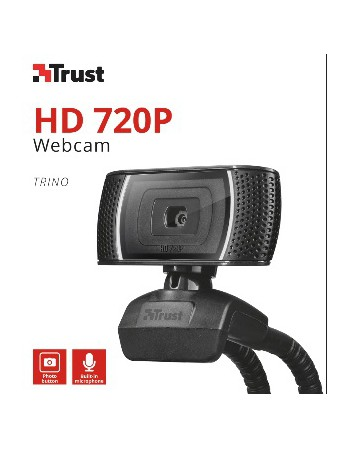Camara Webcam HD 720p Trust Trino 18679