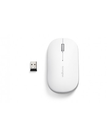 Mouse Kensington SureTrack Dual Wireless Blanco K75353 BT+W